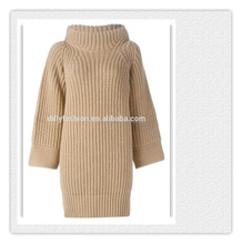 winter heavy thick cashmere sweater design for ladies womens long sweater