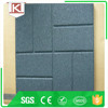 playground rubber tiles for children safety black 50*50 Trade Assurance