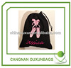 Factory Customized Promotional fashionable cotton drawstring bag