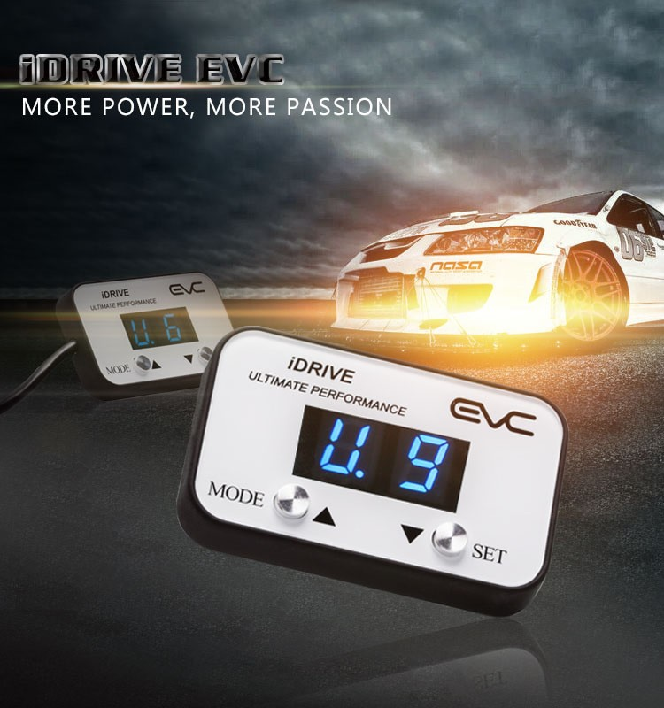 iDrive Wind booster Throttle Controller - EVC313 MITS TRITON MQ 2015 ON