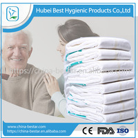 Cheapest second B grade adult diaper from chinese factory