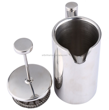 350ML Stainless Steel Filter Cafe Plunger French Press Coffee and Tea Maker