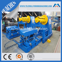 HC hydraulic and manual decoiling steel machine, decoiler / uncoiler machine