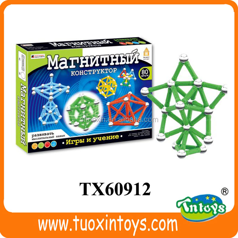 magnetic sticks game and balls