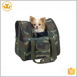 Camouflage Dog Backpack With Handles / Backpack Dog Carrier
