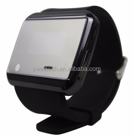 Uwatch2S Ultra Slim Bluetooth Watch Ringing Reminder Display Caller ID Sync with Android Smartphone Gmail Facebook Notification