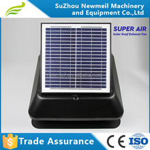 2015 new design for 14inch2ow solar attic roof fan installation in a cheap price