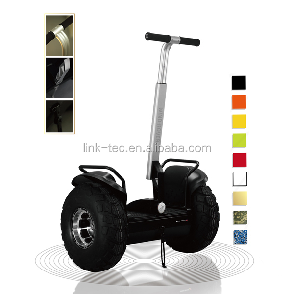 high quality self balancing off road 2 whewel electric scooter electrict chariot