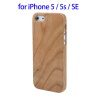 Cherry Wood Case for iPhone 5S OEM, Phone Accessory for iPhone SE
