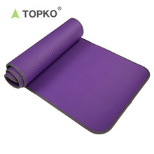 TOPKO new design Piping NBR yoga mat