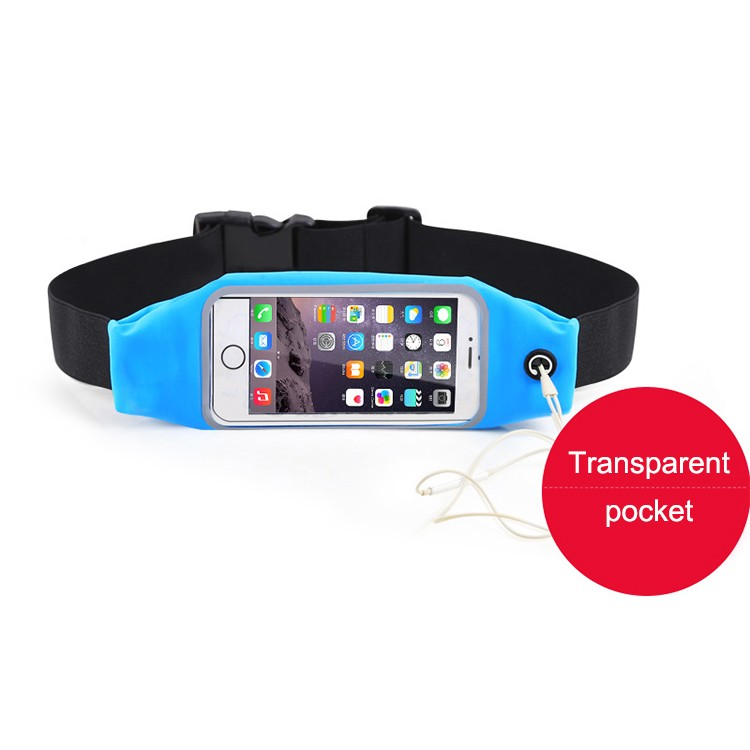 Adjustable invisible sport waist pack running belt