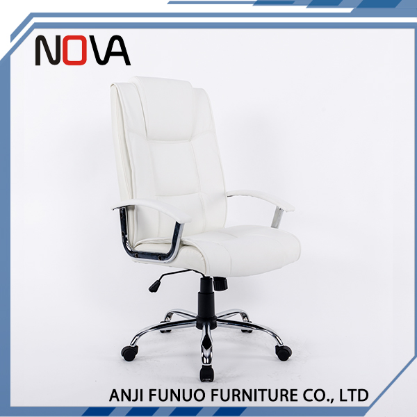 Height Adjustable Swivel Rotating PU And PVC Material Office Chair
