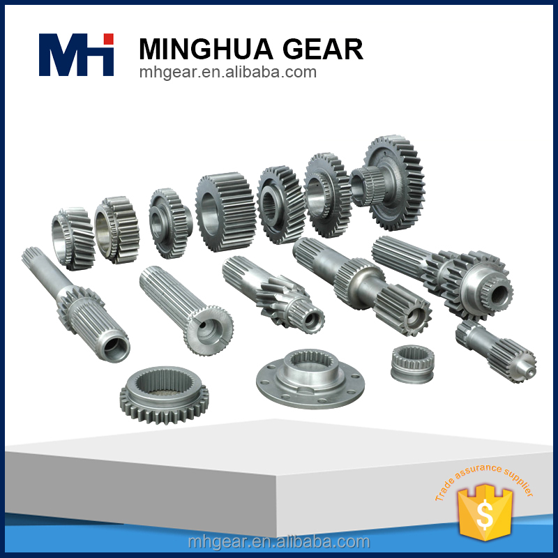 large sized forging steel tractor speedometer worm gear