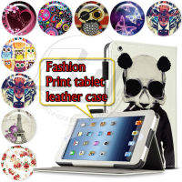 For iPad 2 3 4 New Pattern Stand Leather Skin Book Folio Case Flip Cover