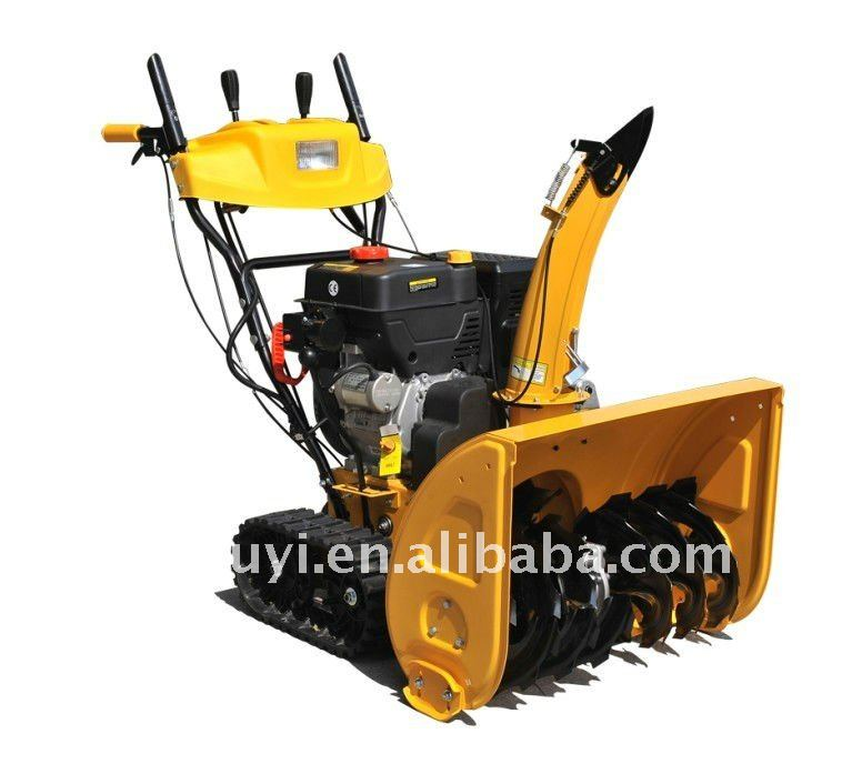 Tractor Snow blower with crawler,11 HP