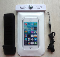 factory direct selling PVC phone waterproof case with compass for Iphone 5S(P501)