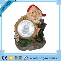 2015 resin garden solar dwarf statues , Outdoor resin solar statues for sale, 2015 new product