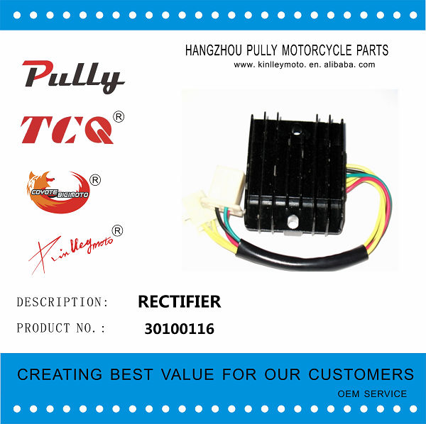 High Quality And Cheap Motorcycle Silicon Rectifier For All Models