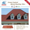 Light weight and Easy to Install stone coated steel roof tiles