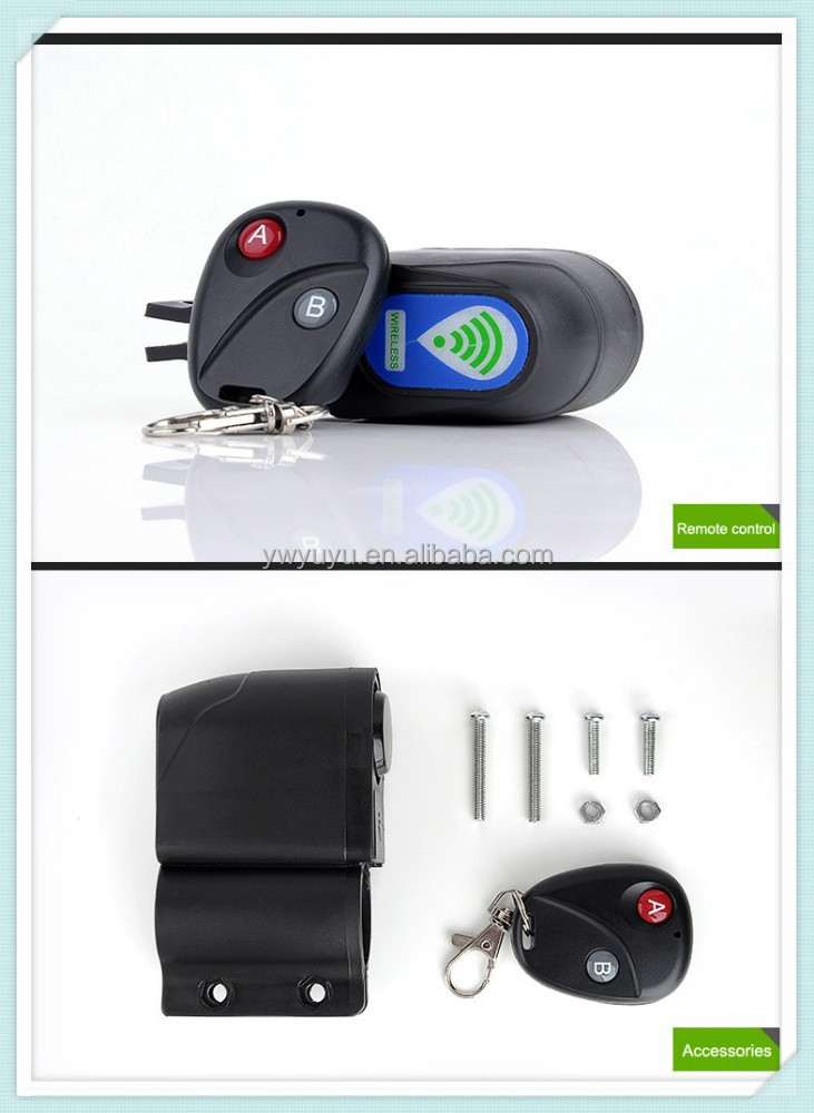 2017 new product palstic security digital alarm