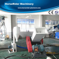 plastic pipe crushing machine/PE PPR PVC Pipe crusher/crushing machine