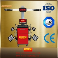 tire shop 3d wheel aligner/auto garage equipment