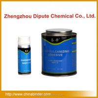 Cold rubber conveyor belt repair glue jointing solution