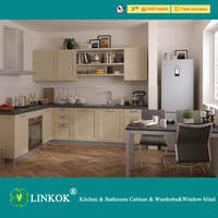 Factory price kitchen cabinet PVC kitchen & cabinet glass door kitchen cabinet in kerala