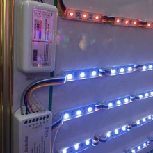 RGB +warm +white led <strong>module</strong> light 12v 5050 3leds ip65 waterproof