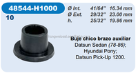 48544-H1000 nissan auto rubber bushing