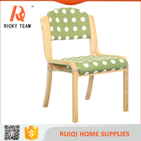 Upholstery wood legs chair,new modern design armless wooden home furniture,colorful cheap widely used dining room chair