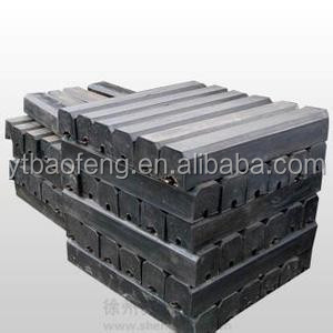 rubber liner ball mill liner plate spare parts