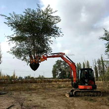 Large high quality chinese manufacturer tree transplanter with low price
