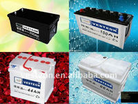Professional manufacture high quality lead acid maintenance free car battery 12v