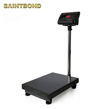 Custom LCD digital bench scales large platform body weight scale shipping scale for packages large platforms