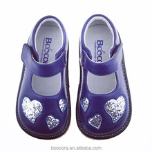 Patent Mary toddler shoes with heart of shoes kids of kids shoes 2017