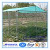 Rectangular Pet Enclosure Mobile House Run Pen Cages for Large Dogs Animal Fencing Chain Link Dog Kennel
