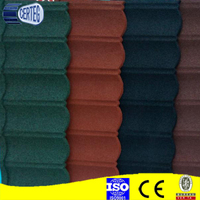 High quality stone coated metal roofing tiles for Africa