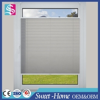 best price perfect fit pleated conservatory vetical blinds by up and down pull