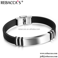 2016 Factory Wholesale Reticulate 316L Stainless Steel Jewelry Identification Medical Alert Bracelet