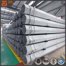BS 1139 hot dipped galvanizing steel pipe, light weight gi steel pipe