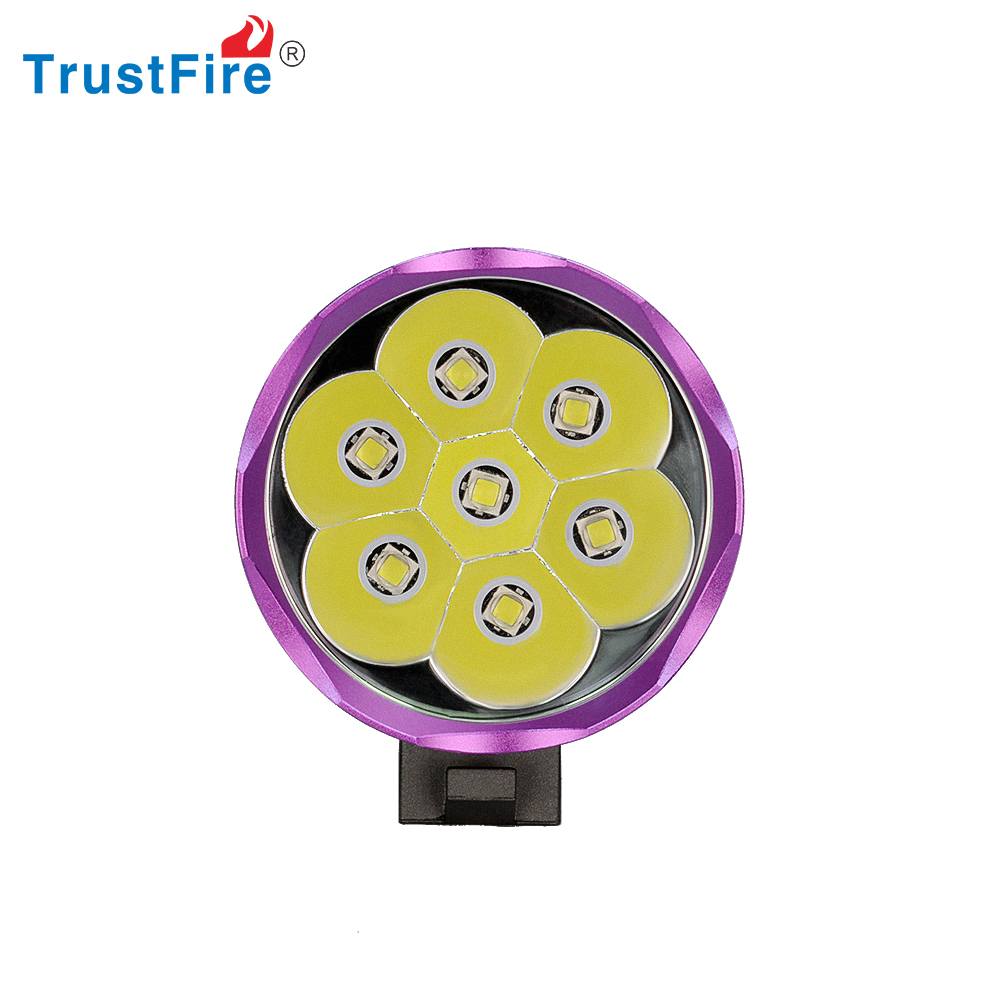 TrustFire <strong>D014</strong> Bicycle Parts China 3200 lumen bicycle light with 8.4V battery pack