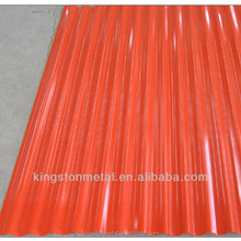 Carbon steel galvanized corrugated metal roofing sheet for shed