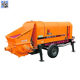 China factory price small portable trailer cement pumps 60m3 stationary concrete pump