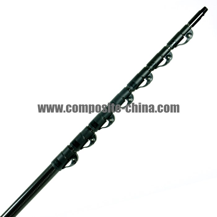 fiberglass composite telescoping water fed poles for window cleaning