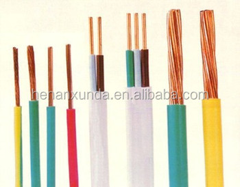 h07v r building wire red green yellow color pvc electric wire 10mm2 16mm 25mm 35mm 50mm buy. Black Bedroom Furniture Sets. Home Design Ideas