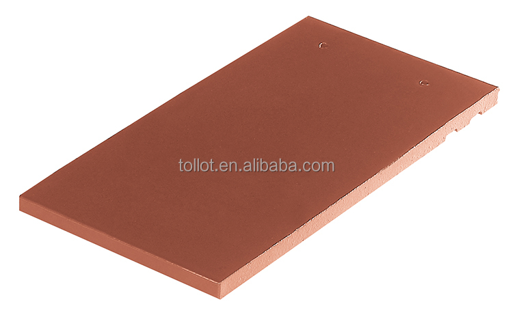 Cheap Construction Roofing Materials Mini Terracotta Flat Tile240*135* for Villas