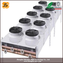customized industrial air dry cooler(airflow, size and material)