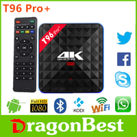 2017 New promotion T96 Pro+ Amlogic 912 3g 32g smart tv dongle Manufacturer Android 6.0 TV Box