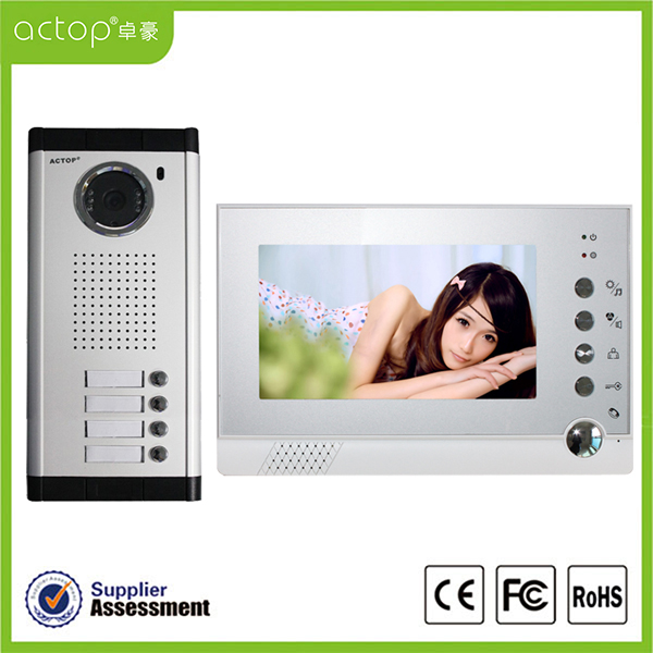 apartment video door phone